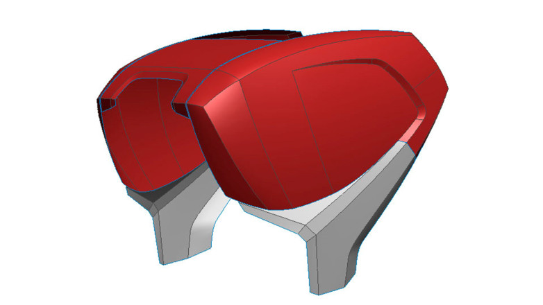 3D CAD model we developed for a Lely Baler