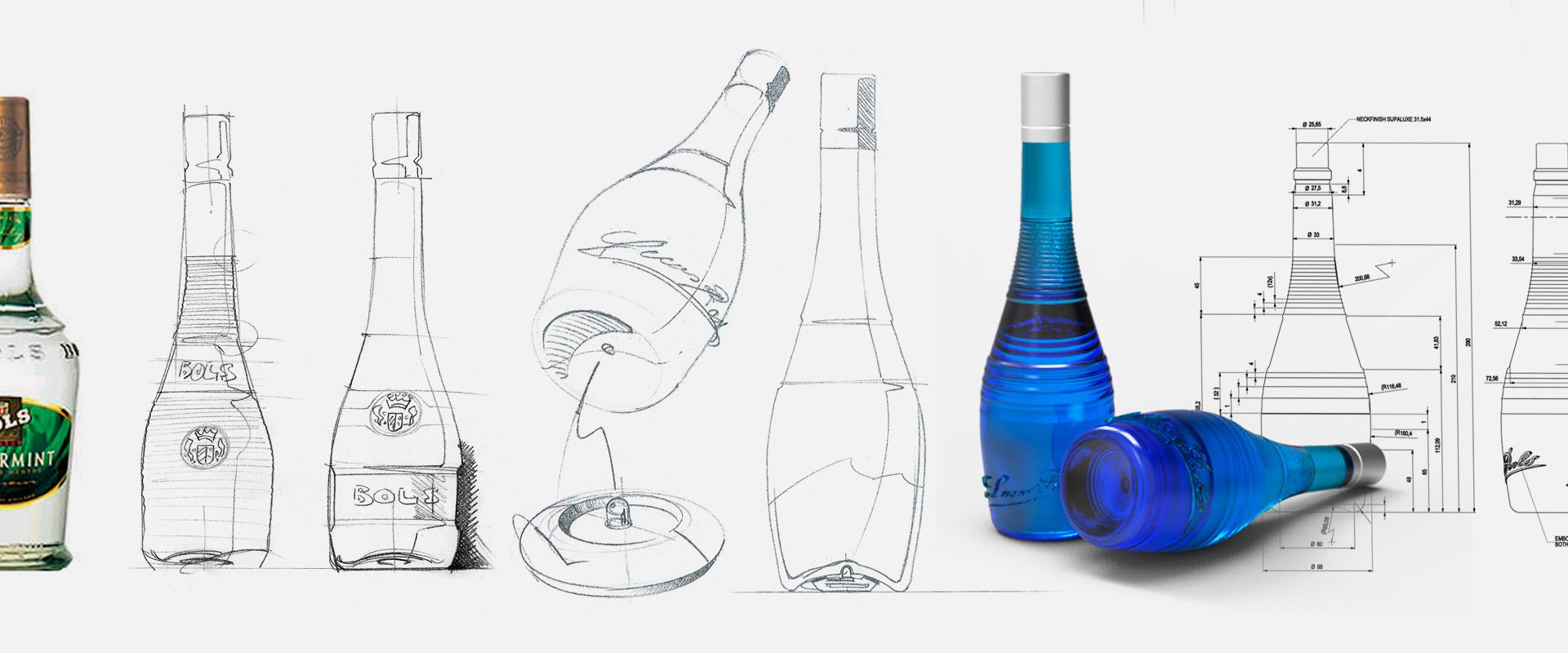 bols bottle flex design. Black Bedroom Furniture Sets. Home Design Ideas