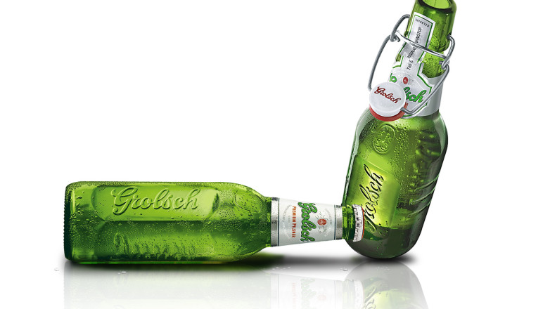 Grolsch - bottlesprduct design for Grolsch - bottles
