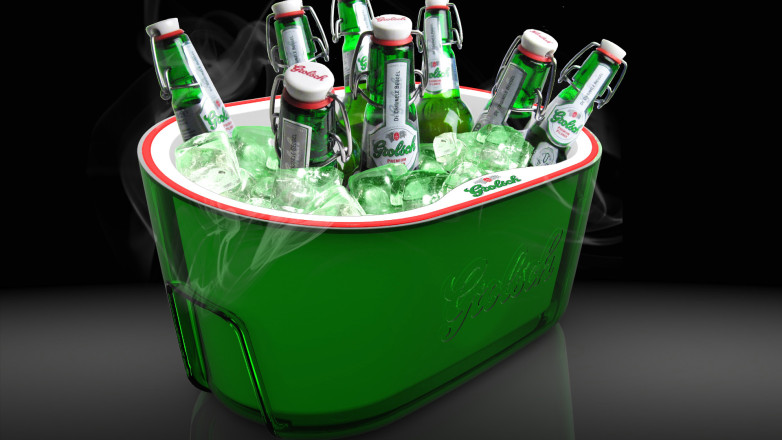 Concept render for a cooler (give-away in the summer of 2011)