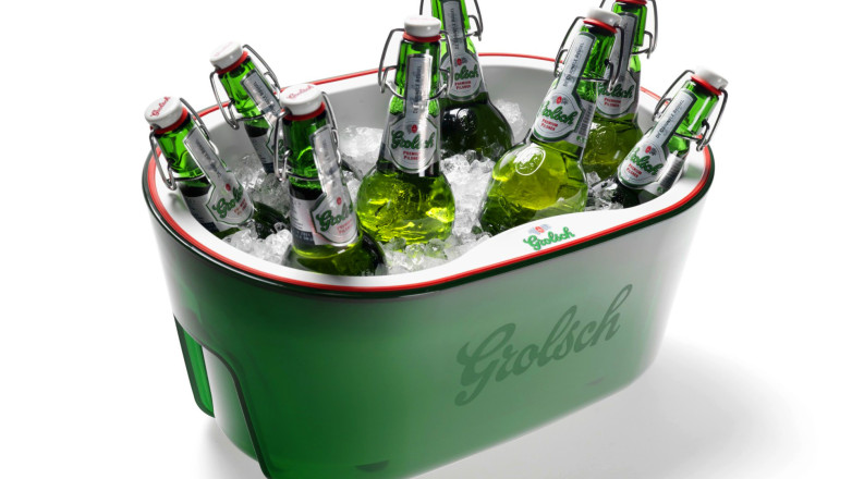 A stylish cooler for your Grolsch beers (give-away in the summer of 2011)