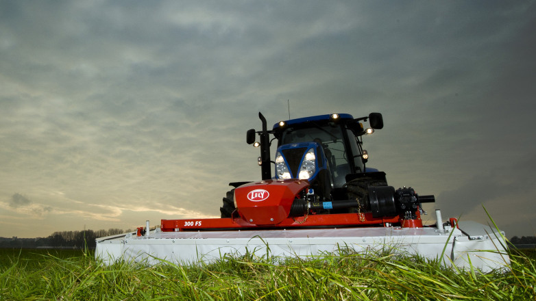FLEX designed the Frontmower Lely Splendimo 300FS