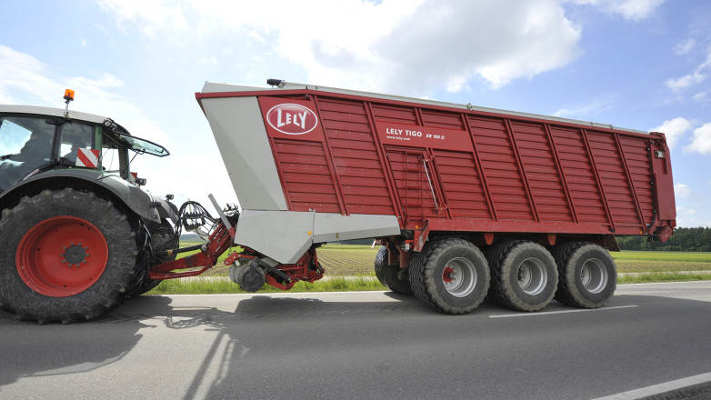 For Lely we designed the Loader wagon Lely Tigo XR