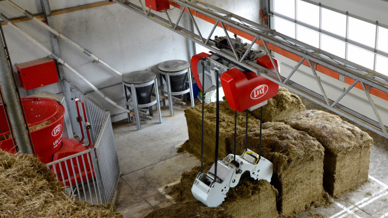 Design of the Automated Feeding System Lely Vector with Foodgrabber