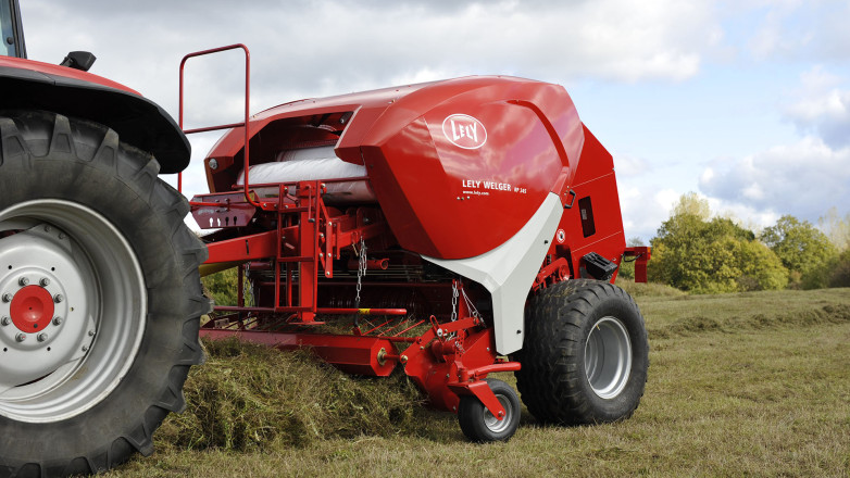 product design for Lely - Round baler Lely Welger RP 245