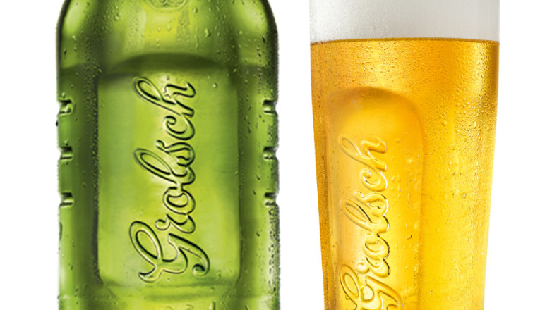 Grolsch - bottlesprduct design for Grolsch - grolsch glass and bottle