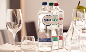 bottles for carbonated mineral water | Spa