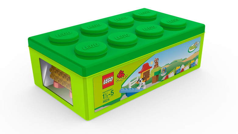 LEGO Brickbox concept render
