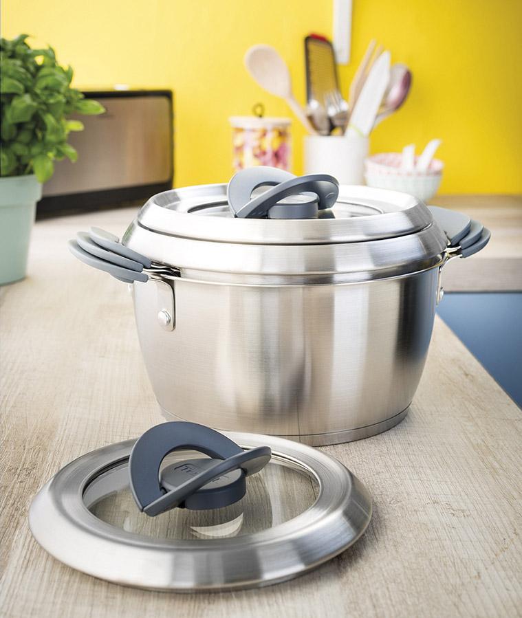Smart Stackable Cookware For Tefal Flex Design
