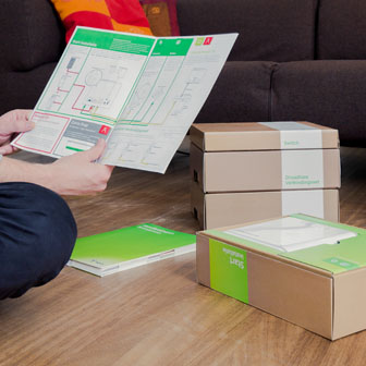 Helping consumers to install hardware  | KPN