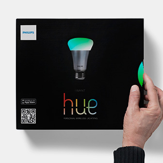 Interactive packaging | Philips Hue