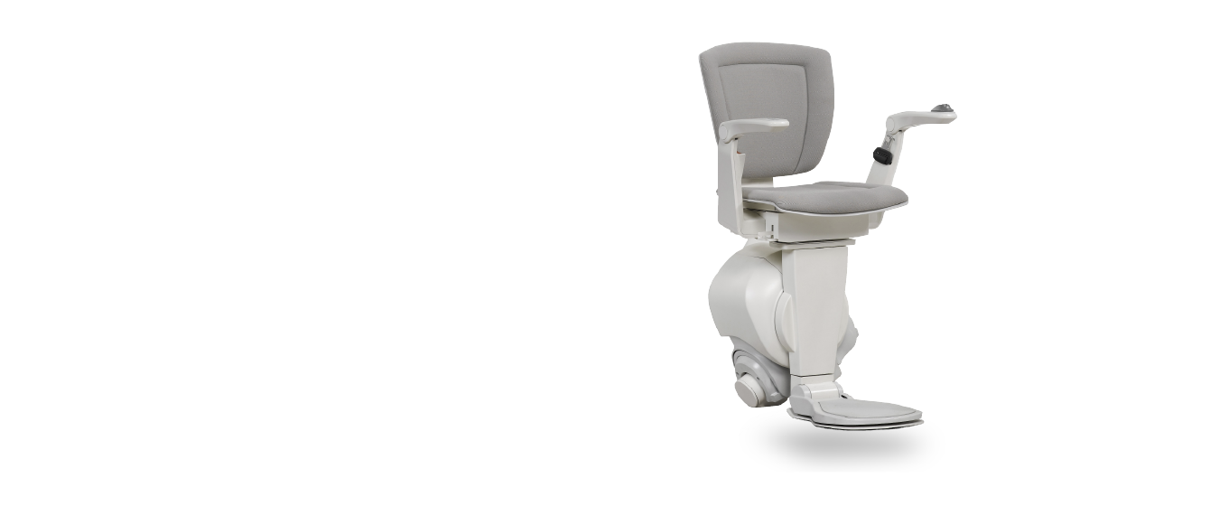 Industrial design of a single rail stairlift