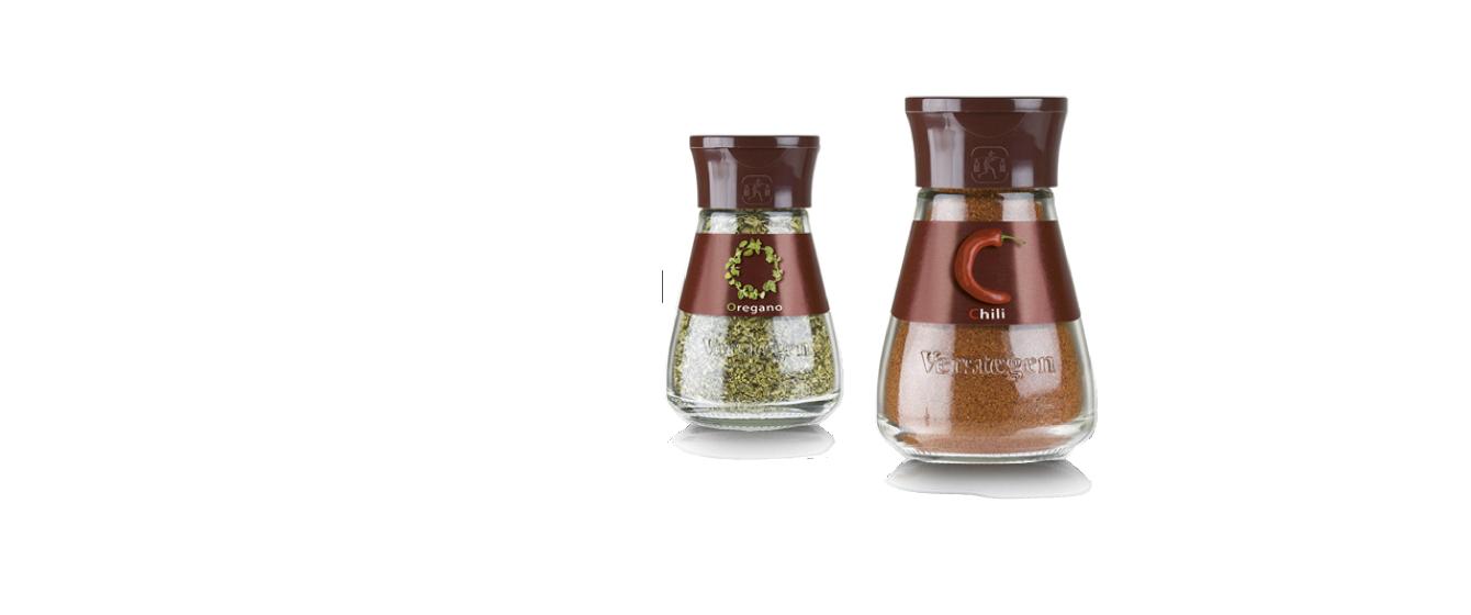 Premium packaging for Verstegen spices