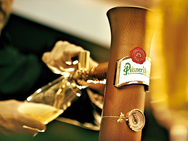Pilsner Urquell Point of sale material large