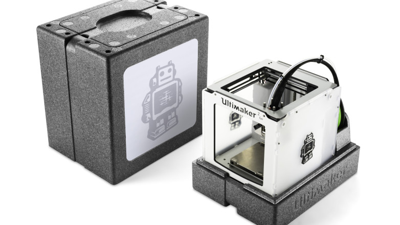 Ultimaker 2 Go open