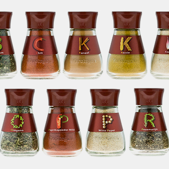 Premium packaging for spices | Verstegen