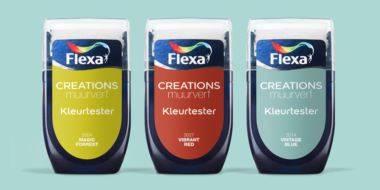 News Flexa Color testers