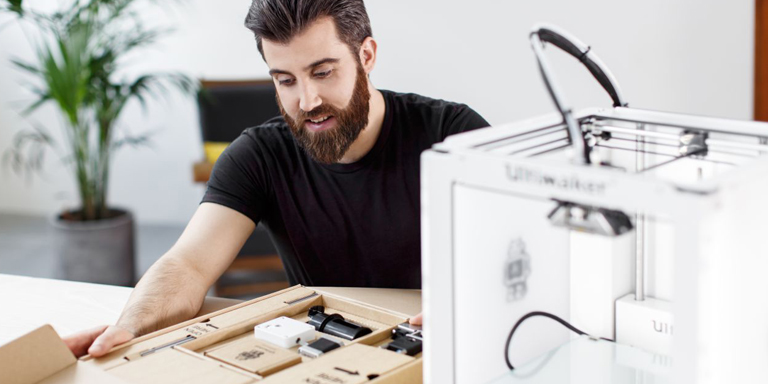 Ultimaker Extrusion upgrade kit packaging