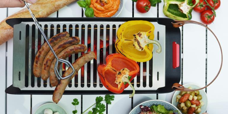 social tabletop grill