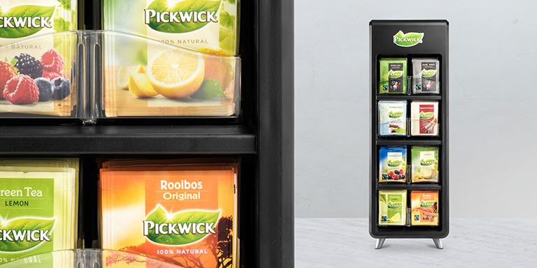 pickwick tea dispenser