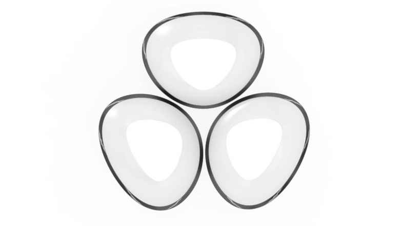 3 bowls in a cirkel