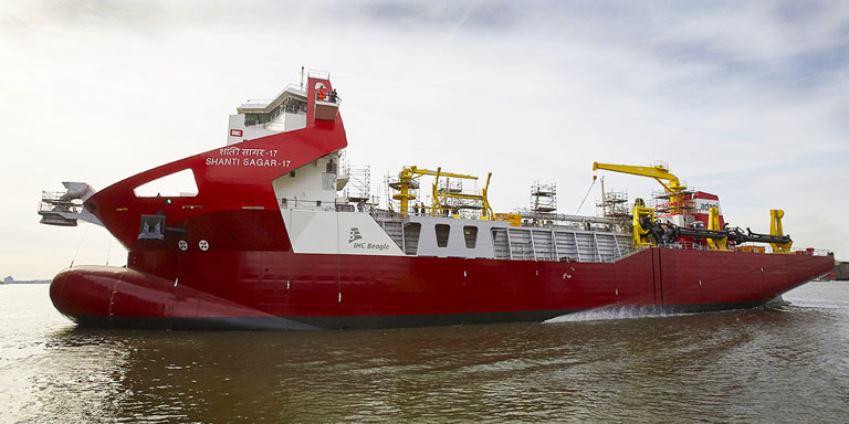 Brand equity for IHC's Beagle Dredger