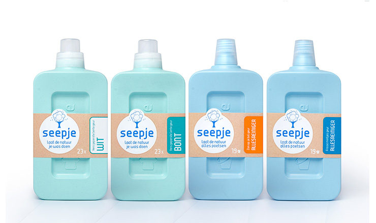 Seepje sustainable packaging design