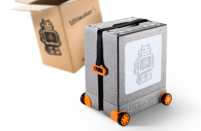 Ultimaker 2 Go personalized packaging