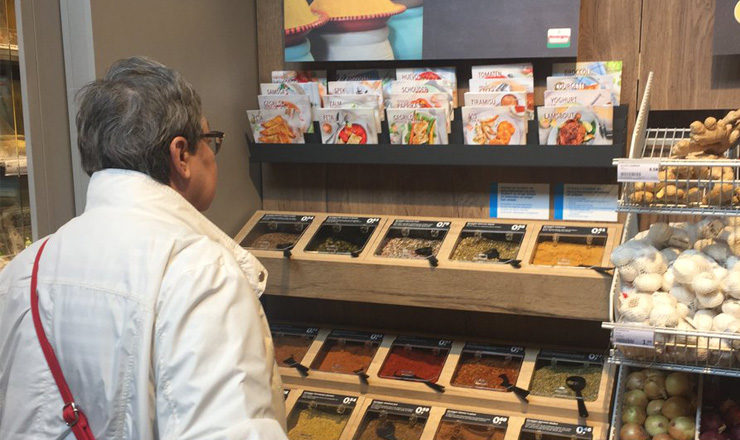 Verstegen self service spices concept