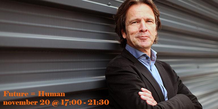 Jeroen Verbrugge Keynote speaker at FUTURE = HUMAN
