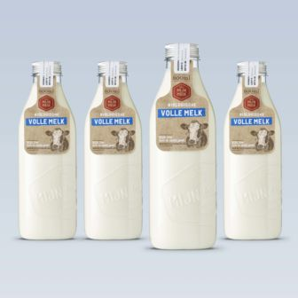 Iconic packaging design for Mijn Melk | Lely